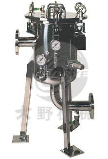 日本大野机械金属滤芯精细过滤器DJM型产品图